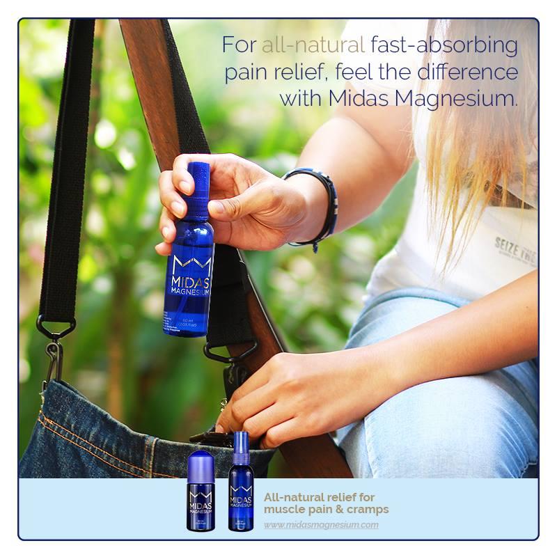 Pain Relief + Midas Magnesium