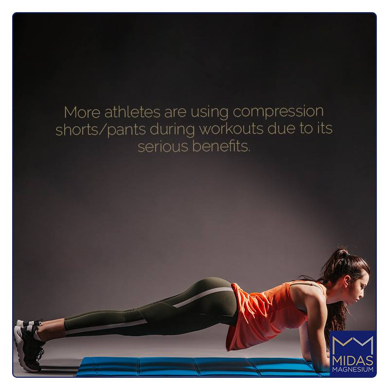 More athletes are using compression shorts/pants during workouts due to its serious benefits.